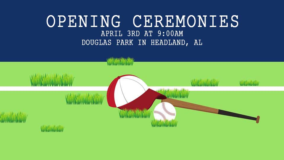 2021 headland baseball opening ceremonies